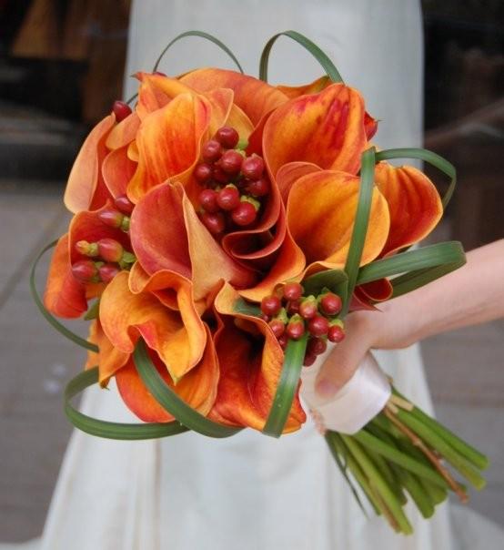 Oranžové kytice inšpirácie - Obrázok č. 13