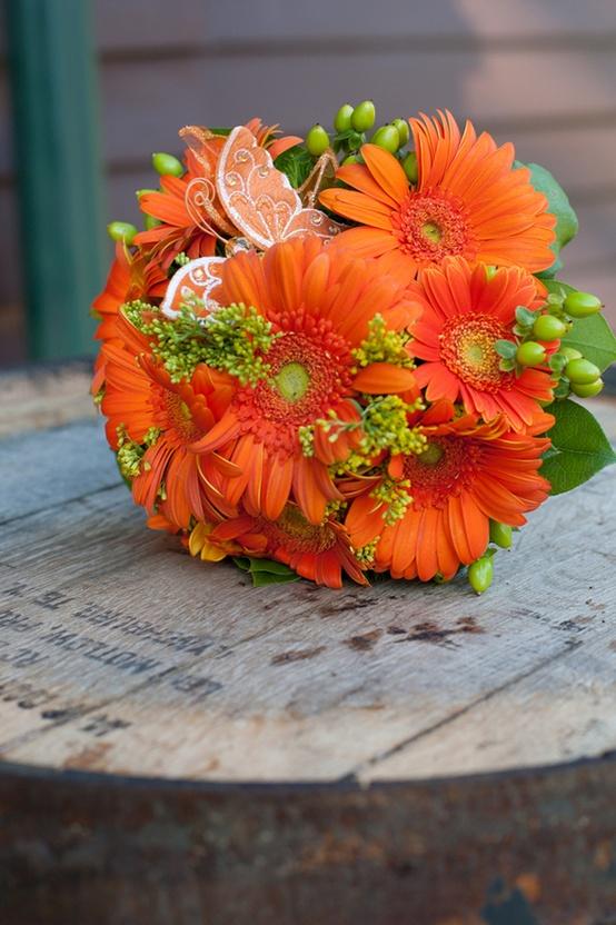 Oranžové kytice inšpirácie - Obrázok č. 14