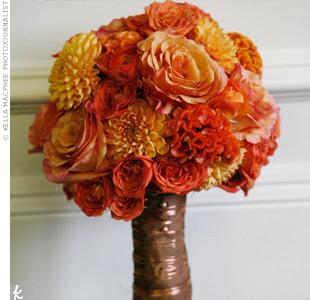 Oranžové kytice inšpirácie - Obrázok č. 17