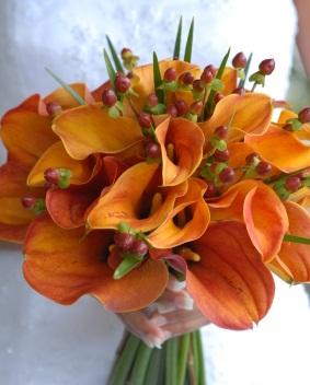 Oranžové kytice inšpirácie - Obrázok č. 19