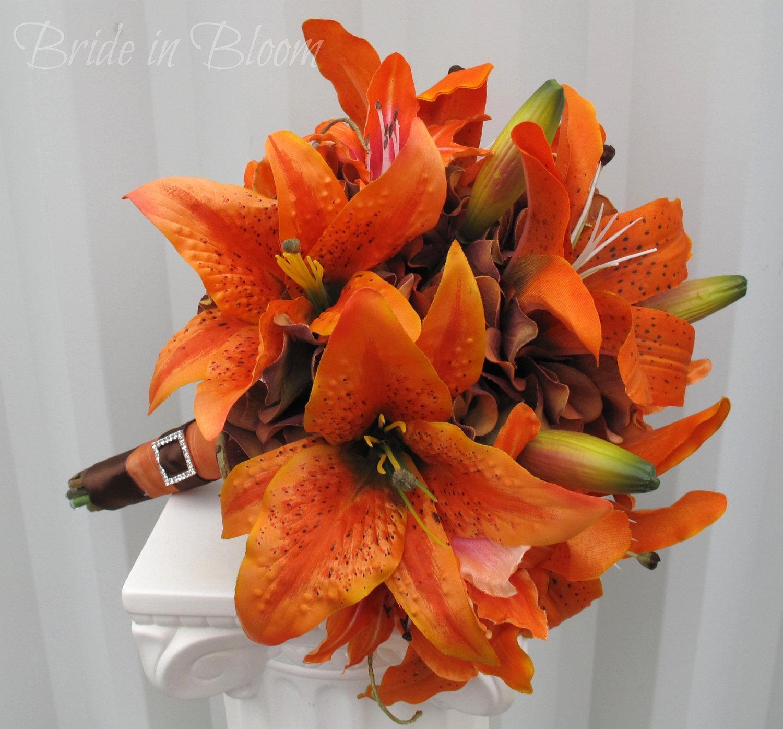 Oranžové kytice inšpirácie - Obrázok č. 25