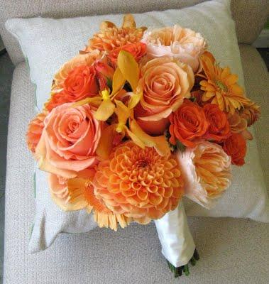 Oranžové kytice inšpirácie - Obrázok č. 29