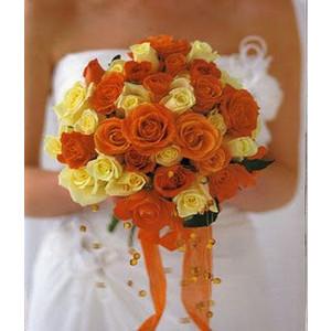 Oranžové kytice inšpirácie - Obrázok č. 31