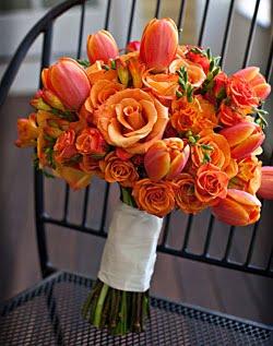 Oranžové kytice inšpirácie - Obrázok č. 32