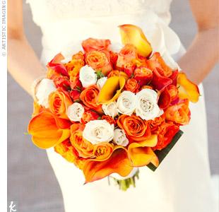 Oranžové kytice inšpirácie - Obrázok č. 33