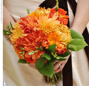 Oranžové kytice inšpirácie - Obrázok č. 34