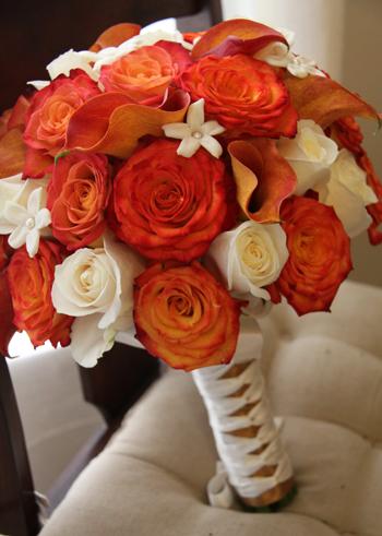 Oranžové kytice inšpirácie - Obrázok č. 40