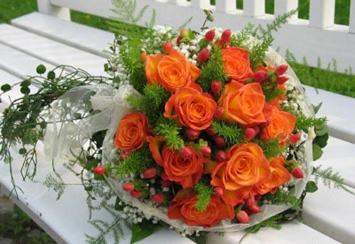Oranžové kytice inšpirácie - Obrázok č. 43