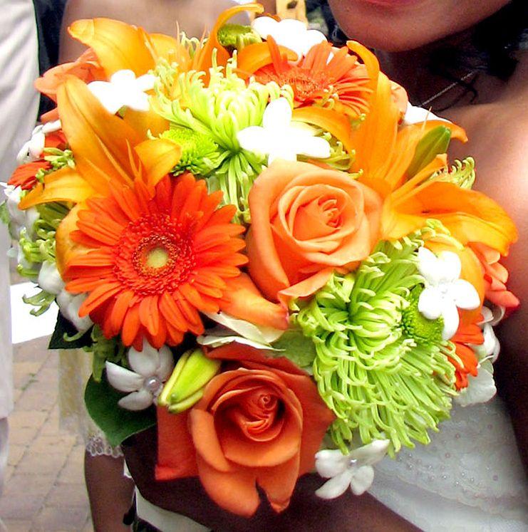 Oranžové kytice inšpirácie - Obrázok č. 46