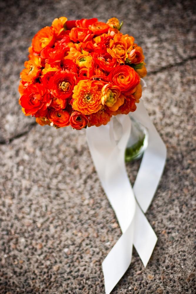 Oranžové kytice inšpirácie - Obrázok č. 47