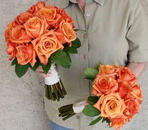 Oranžové kytice inšpirácie - Obrázok č. 48