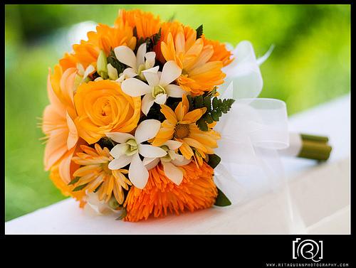Oranžové kytice inšpirácie - Obrázok č. 51