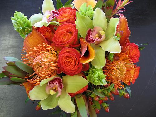 Oranžové kytice inšpirácie - Obrázok č. 53