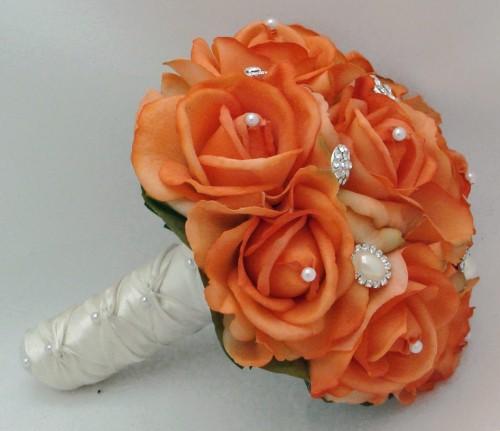 Oranžové kytice inšpirácie - Obrázok č. 54