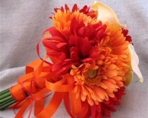 Oranžové kytice inšpirácie - Obrázok č. 55