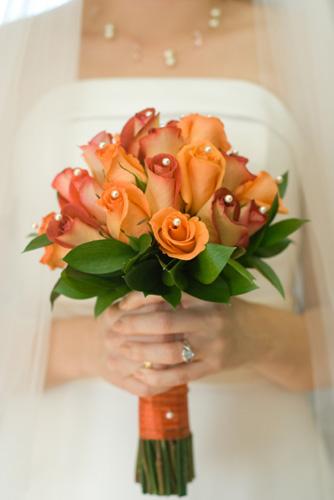 Oranžové kytice inšpirácie - Obrázok č. 56