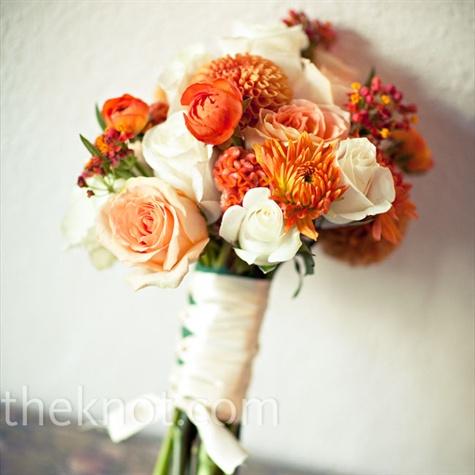 Oranžové kytice inšpirácie - Obrázok č. 57