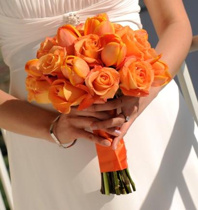 Oranžové kytice inšpirácie - Obrázok č. 60