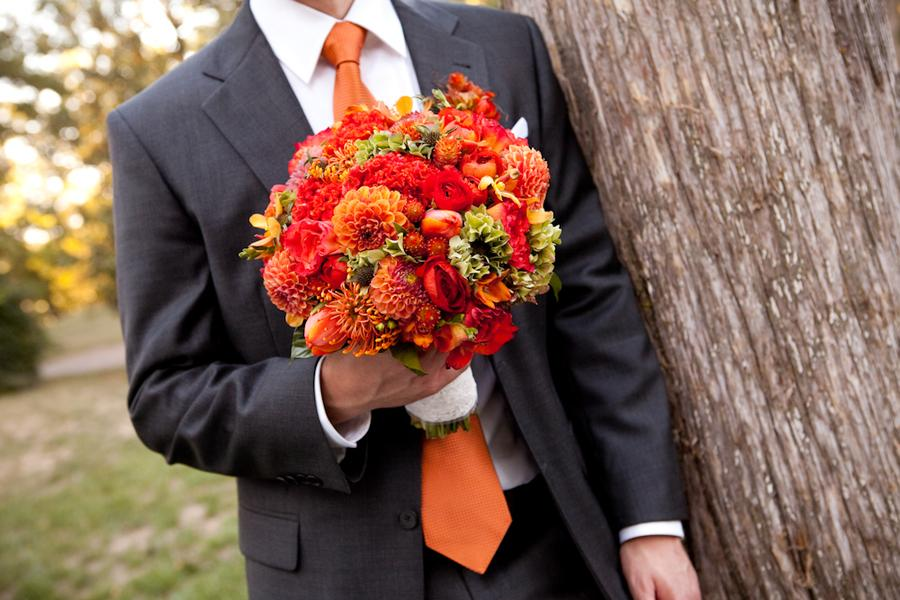 Oranžové kytice inšpirácie - Obrázok č. 61