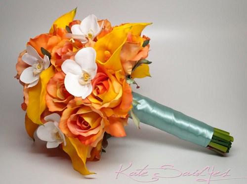 Oranžové kytice inšpirácie - Obrázok č. 62