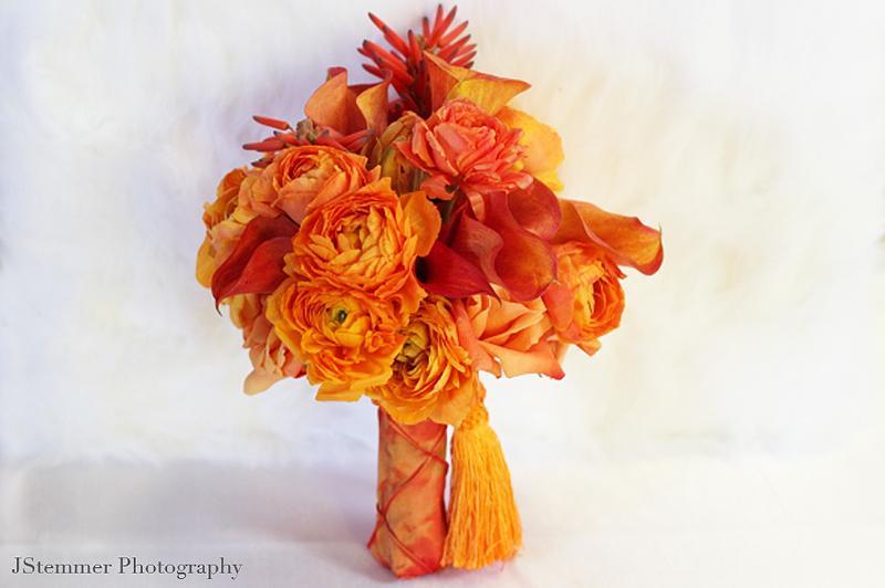 Oranžové kytice inšpirácie - Obrázok č. 64