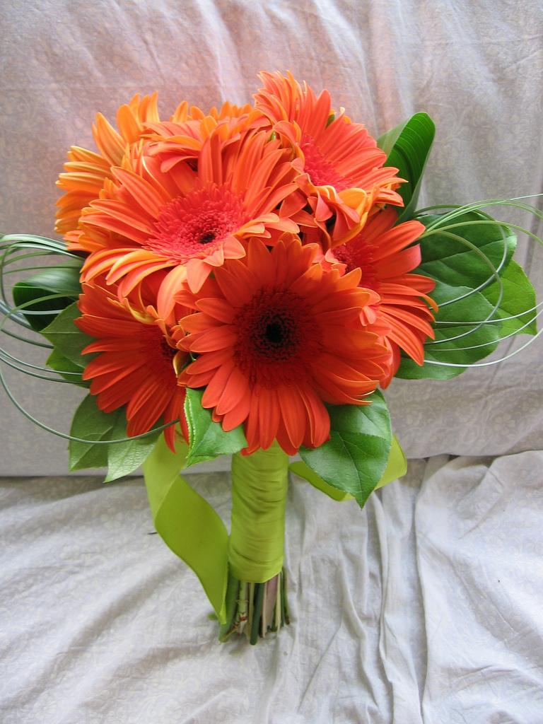 Oranžové kytice inšpirácie - Obrázok č. 66