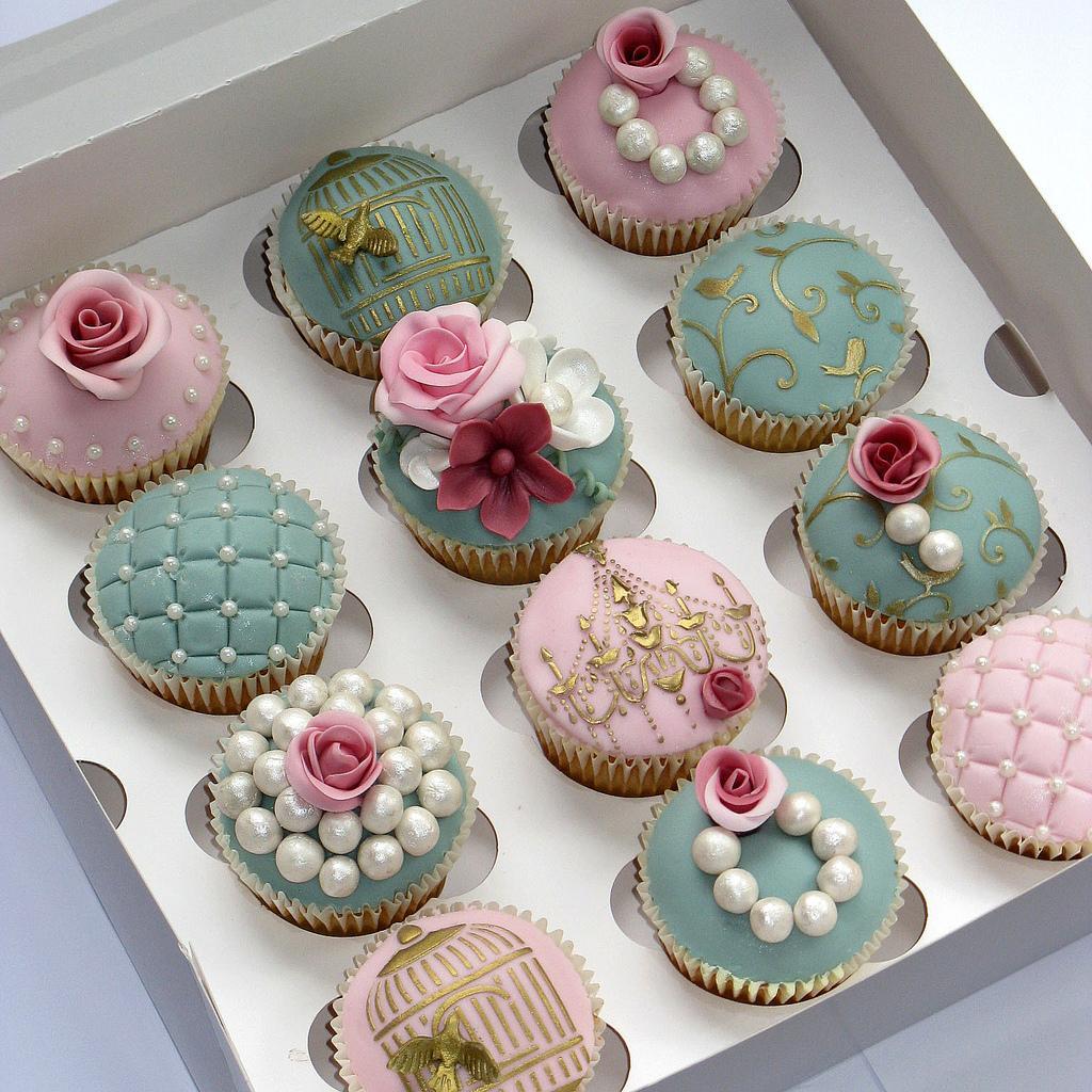 Muffinky a cup cakes inšpirácie - Obrázok č. 4