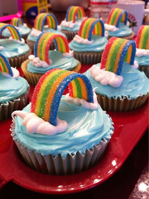 Muffinky a cup cakes inšpirácie - Obrázok č. 7