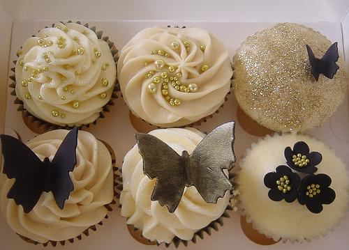 Muffinky a cup cakes inšpirácie - Obrázok č. 22