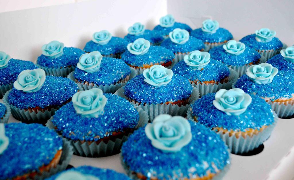 Muffinky a cup cakes inšpirácie - Obrázok č. 23