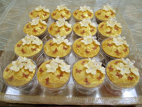 Muffinky a cup cakes inšpirácie - Obrázok č. 24