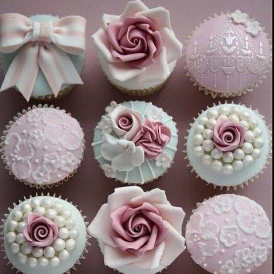 Muffinky a cup cakes inšpirácie - Obrázok č. 31