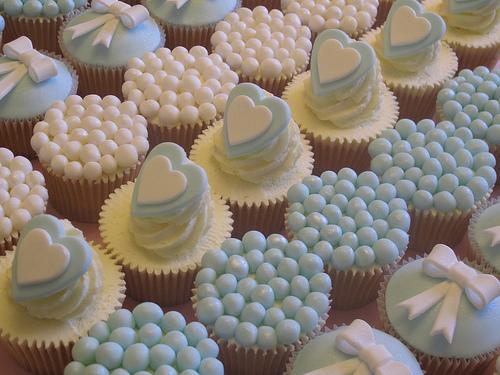 Muffinky a cup cakes inšpirácie - Obrázok č. 34