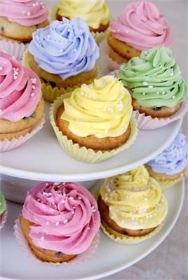 Muffinky a cup cakes inšpirácie - Obrázok č. 35