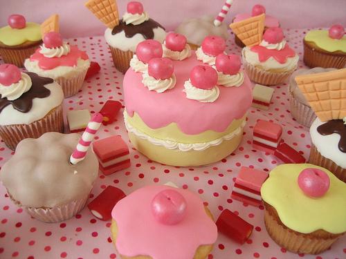 Muffinky a cup cakes inšpirácie - Obrázok č. 51
