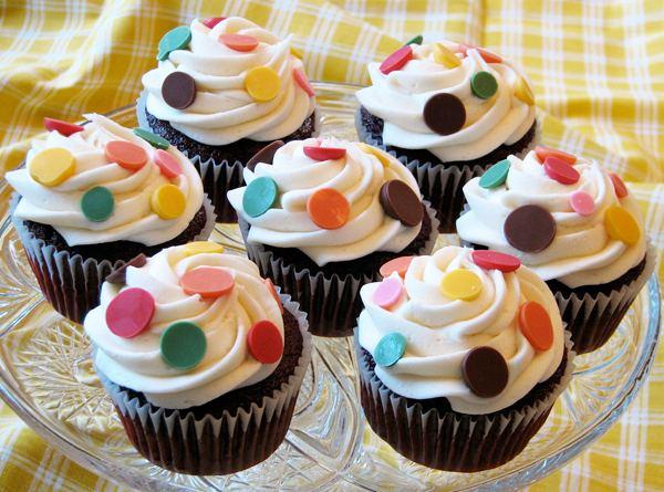 Muffinky a cup cakes inšpirácie - Obrázok č. 55