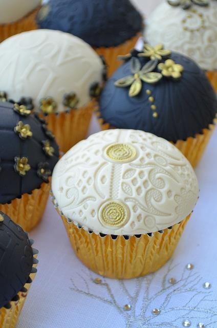 Muffinky a cup cakes inšpirácie - Obrázok č. 65