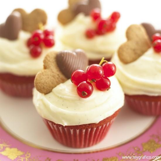Muffinky a cup cakes inšpirácie - Obrázok č. 81