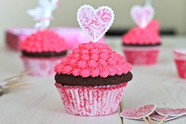 Muffinky a cup cakes inšpirácie - Obrázok č. 83