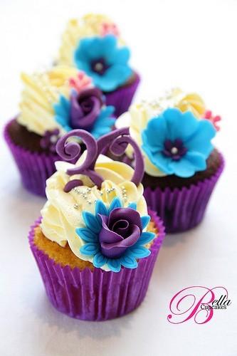 Muffinky a cup cakes inšpirácie - Obrázok č. 95