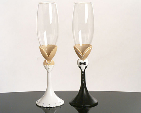Svadobné poháre - Obrázok č. 21