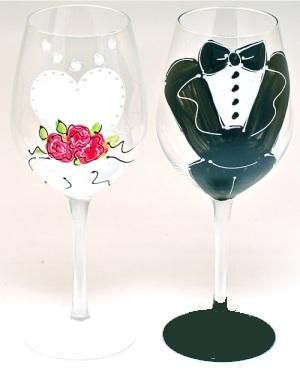 Svadobné poháre - Obrázok č. 23