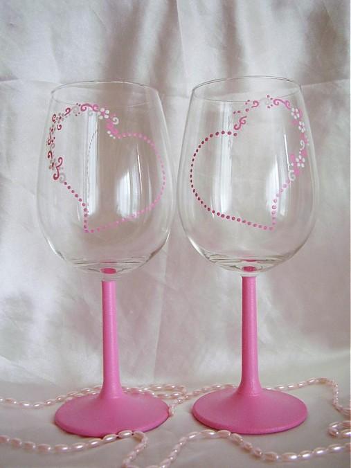 Svadobné poháre - Obrázok č. 29