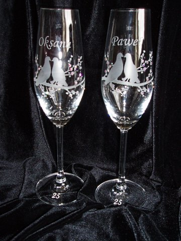 Svadobné poháre - Obrázok č. 57