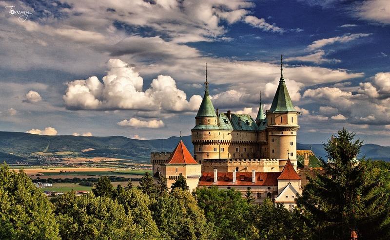 Krásne miesta Slovenska vhodné na svadobné fotenie - Bojnice