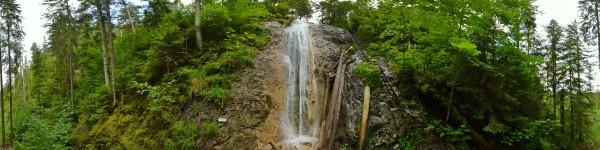 Krásne miesta Slovenska vhodné na svadobné fotenie - Dúhový vodopád Slovenský Raj