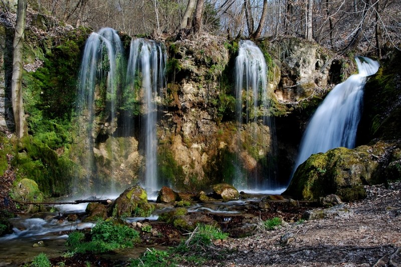 Krásne miesta Slovenska vhodné na svadobné fotenie - Hájske vodopády