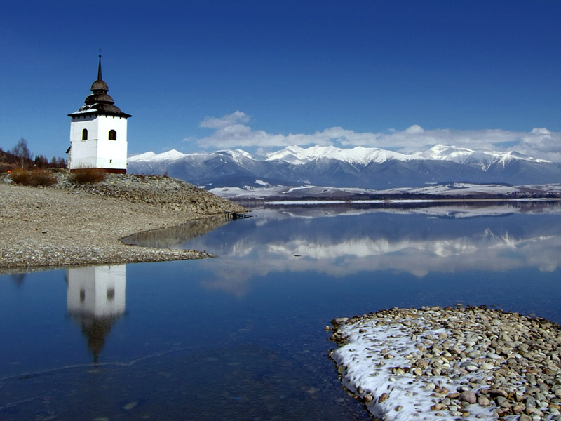 Krásne miesta Slovenska vhodné na svadobné fotenie - Liptovská Mara