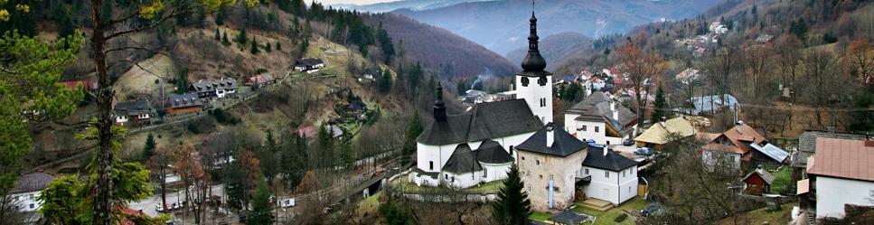 Krásne miesta Slovenska vhodné na svadobné fotenie - Špania dolina