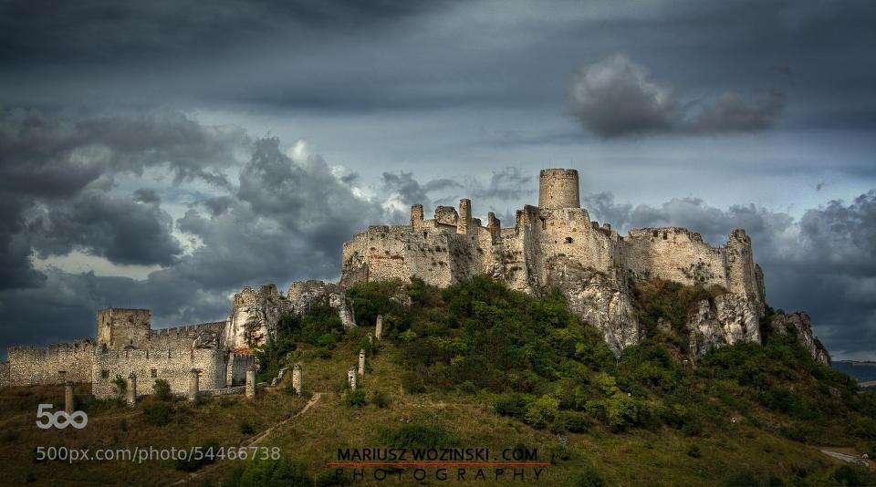 Krásne miesta Slovenska vhodné na svadobné fotenie - Spišský hrad